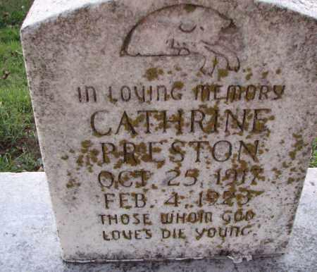 PRESTON, CATHRINE - Poinsett County, Arkansas | CATHRINE PRESTON - Arkansas Gravestone Photos