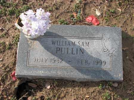 PULLIN, WILLIAM SAM - Poinsett County, Arkansas   WILLIAM SAM PULLIN - Arkansas Gravestone Photos