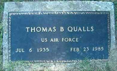 QUALLS  (VETERAN), THOMAS B. - Poinsett County, Arkansas   THOMAS B. QUALLS  (VETERAN) - Arkansas Gravestone Photos