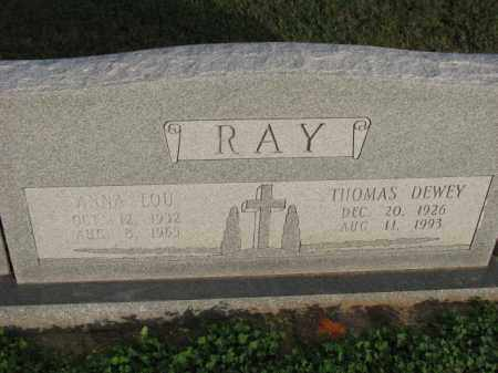 RAY, ANNA LOU - Poinsett County, Arkansas | ANNA LOU RAY - Arkansas Gravestone Photos