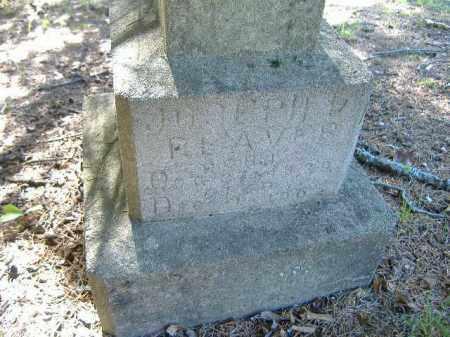 REAVES, JOSEPH D. - Poinsett County, Arkansas | JOSEPH D. REAVES - Arkansas Gravestone Photos