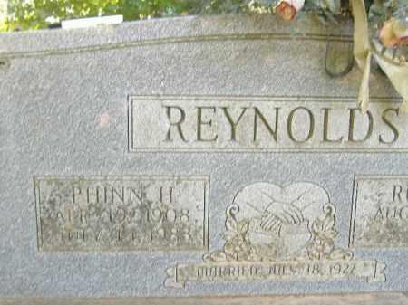 REYNOLDS, PHINN H. - Poinsett County, Arkansas | PHINN H. REYNOLDS - Arkansas Gravestone Photos