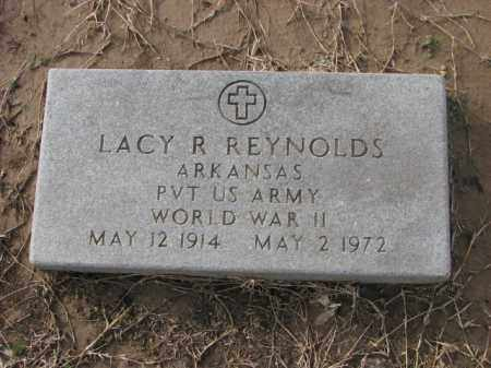 REYNOLDS (VETERAN WWII), LACY R - Poinsett County, Arkansas   LACY R REYNOLDS (VETERAN WWII) - Arkansas Gravestone Photos