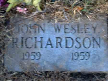 RICHARDSON, JOHN WESLEY - Poinsett County, Arkansas | JOHN WESLEY RICHARDSON - Arkansas Gravestone Photos