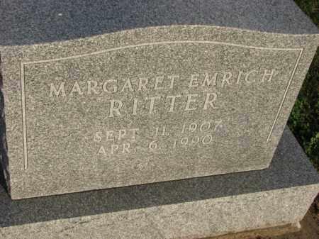RITTER, MARGARET - Poinsett County, Arkansas   MARGARET RITTER - Arkansas Gravestone Photos