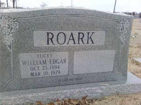 "ROARK, WILLIAM EDGAR ""LUCKY"" - Poinsett County, Arkansas 