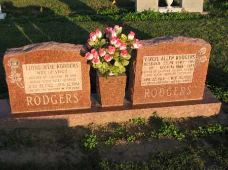 RODGERS, LEONE MIZE - Poinsett County, Arkansas | LEONE MIZE RODGERS - Arkansas Gravestone Photos