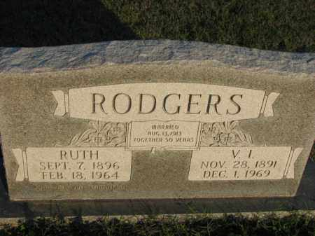 RODGERS, V.I. - Poinsett County, Arkansas | V.I. RODGERS - Arkansas Gravestone Photos