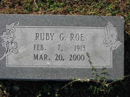 ROE, RUBY G. - Poinsett County, Arkansas | RUBY G. ROE - Arkansas Gravestone Photos