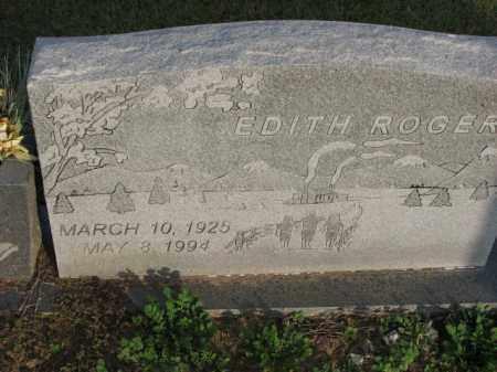 ROGERS, EDITH - Poinsett County, Arkansas | EDITH ROGERS - Arkansas Gravestone Photos