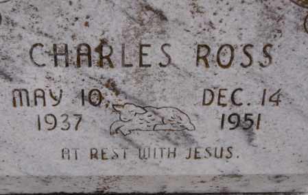 ROSS, CHARLES - Poinsett County, Arkansas | CHARLES ROSS - Arkansas Gravestone Photos
