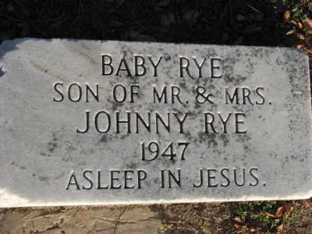 RYE, BABY - Poinsett County, Arkansas | BABY RYE - Arkansas Gravestone Photos