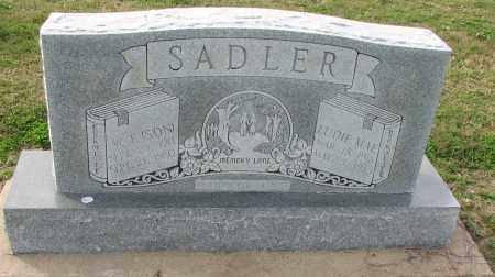 SADLER, W.T. (SON) - Poinsett County, Arkansas | W.T. (SON) SADLER - Arkansas Gravestone Photos