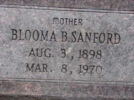 SANFORD, BLOOMA B. - Poinsett County, Arkansas | BLOOMA B. SANFORD - Arkansas Gravestone Photos