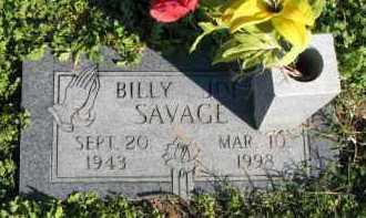 SAVAGE, BILLY JOE - Poinsett County, Arkansas | BILLY JOE SAVAGE - Arkansas Gravestone Photos