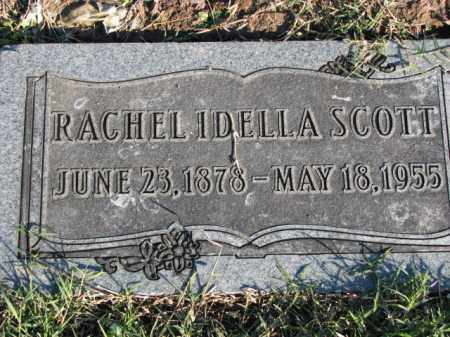 SCOTT, RACHEL IDELLA - Poinsett County, Arkansas | RACHEL IDELLA SCOTT - Arkansas Gravestone Photos
