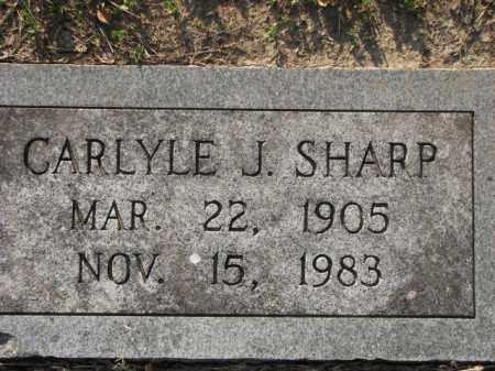 SHARP, CARLYLE J. - Poinsett County, Arkansas | CARLYLE J. SHARP - Arkansas Gravestone Photos