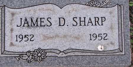 SHARP, JAMES D. - Poinsett County, Arkansas   JAMES D. SHARP - Arkansas Gravestone Photos