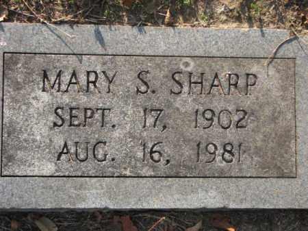 SHARP, MARY S. - Poinsett County, Arkansas | MARY S. SHARP - Arkansas Gravestone Photos