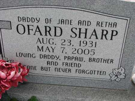 SHARP, OFARD - Poinsett County, Arkansas | OFARD SHARP - Arkansas Gravestone Photos