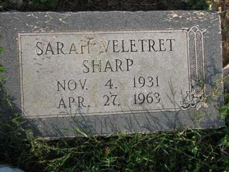 SHARP, SARAH - Poinsett County, Arkansas | SARAH SHARP - Arkansas Gravestone Photos