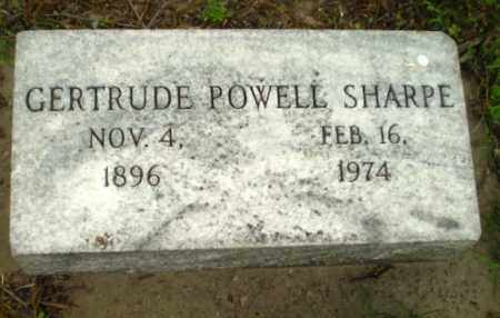 POWELL SHARPE, GERTRUDE - Poinsett County, Arkansas | GERTRUDE POWELL SHARPE - Arkansas Gravestone Photos