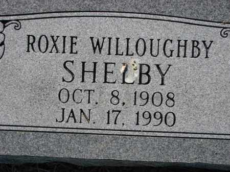 WILLOUGHBY SHELBY, ROXIE - Poinsett County, Arkansas | ROXIE WILLOUGHBY SHELBY - Arkansas Gravestone Photos