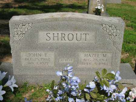 SHROUT, HAZEL M - Poinsett County, Arkansas | HAZEL M SHROUT - Arkansas Gravestone Photos