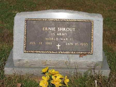 SHROUT (VETERAN WWII), ERNIE - Poinsett County, Arkansas | ERNIE SHROUT (VETERAN WWII) - Arkansas Gravestone Photos