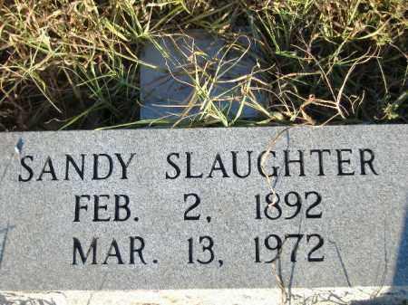SLAUGHTER, SANDY - Poinsett County, Arkansas | SANDY SLAUGHTER - Arkansas Gravestone Photos