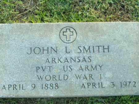SMITH  (VETERAN WWI), JOHN L - Poinsett County, Arkansas | JOHN L SMITH  (VETERAN WWI) - Arkansas Gravestone Photos