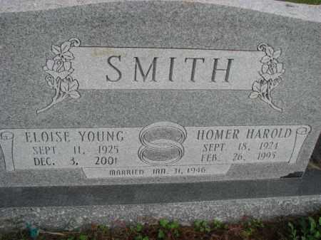 SMITH, HOMER HAROLD - Poinsett County, Arkansas | HOMER HAROLD SMITH - Arkansas Gravestone Photos