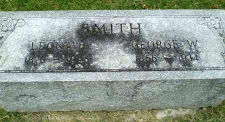 SMITH, GEORGE W - Poinsett County, Arkansas | GEORGE W SMITH - Arkansas Gravestone Photos
