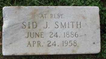 SMITH, SID J. - Poinsett County, Arkansas | SID J. SMITH - Arkansas Gravestone Photos