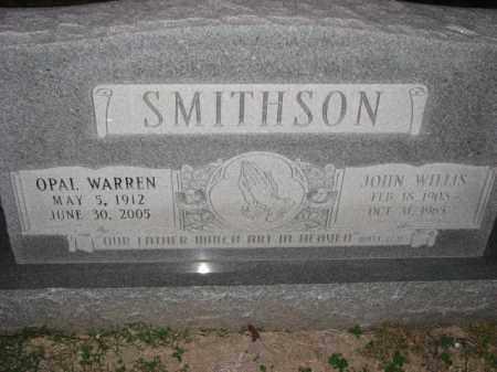 SMITHSON, OPAL - Poinsett County, Arkansas   OPAL SMITHSON - Arkansas Gravestone Photos
