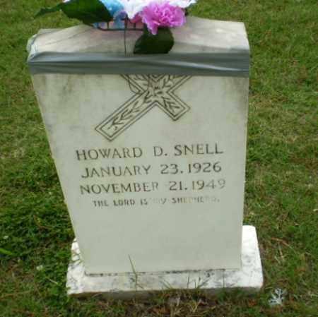 SNELL, HOWARD D. - Poinsett County, Arkansas | HOWARD D. SNELL - Arkansas Gravestone Photos
