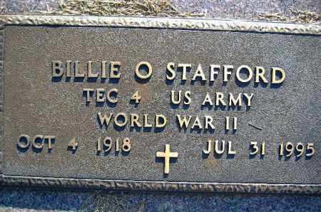 STAFFORD  (VETERAN WWII), BILLIE O. - Poinsett County, Arkansas   BILLIE O. STAFFORD  (VETERAN WWII) - Arkansas Gravestone Photos