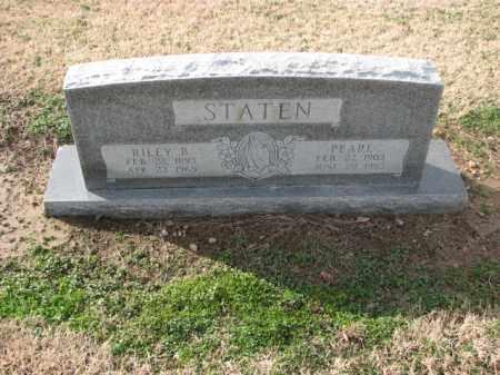STATEN, RILEY B. - Poinsett County, Arkansas | RILEY B. STATEN - Arkansas Gravestone Photos