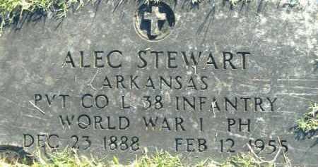 STEWART  (VETERAN WWI), ALEC - Poinsett County, Arkansas | ALEC STEWART  (VETERAN WWI) - Arkansas Gravestone Photos