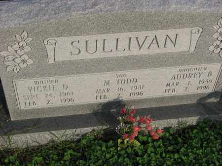 SULLIVAN, VICKIE D. - Poinsett County, Arkansas | VICKIE D. SULLIVAN - Arkansas Gravestone Photos