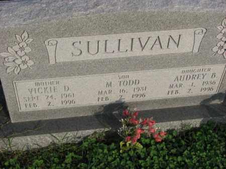 SULLIVAN, AUDREY B. - Poinsett County, Arkansas | AUDREY B. SULLIVAN - Arkansas Gravestone Photos