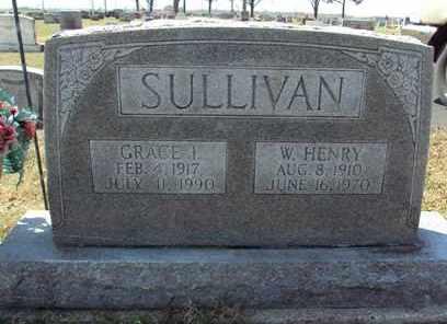 SULLIVAN, W. HENRY - Poinsett County, Arkansas | W. HENRY SULLIVAN - Arkansas Gravestone Photos