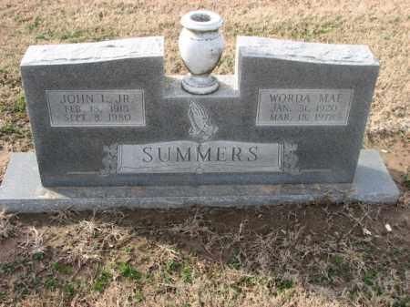 SUMMERS, WORDA MAE - Poinsett County, Arkansas | WORDA MAE SUMMERS - Arkansas Gravestone Photos