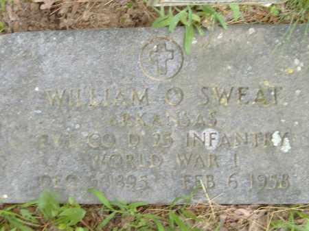 SWEAT  (VETERAN WWI), WILLIAM O - Poinsett County, Arkansas | WILLIAM O SWEAT  (VETERAN WWI) - Arkansas Gravestone Photos