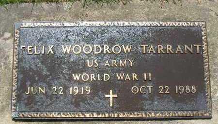 TARRANT  (VETERAN WWII), FELIX WOODROW - Poinsett County, Arkansas | FELIX WOODROW TARRANT  (VETERAN WWII) - Arkansas Gravestone Photos