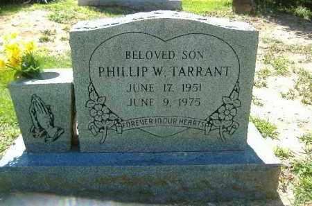 TARRANT, PHILLIP W. - Poinsett County, Arkansas | PHILLIP W. TARRANT - Arkansas Gravestone Photos
