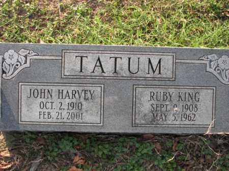 TATUM, RUBY - Poinsett County, Arkansas | RUBY TATUM - Arkansas Gravestone Photos