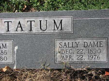 TATUM, SALLY DAME - Poinsett County, Arkansas   SALLY DAME TATUM - Arkansas Gravestone Photos