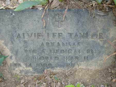 TAYLOR  (VETERAN WWII), ALVIE LEE - Poinsett County, Arkansas | ALVIE LEE TAYLOR  (VETERAN WWII) - Arkansas Gravestone Photos