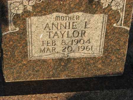 TAYLOR, ANNIE L. - Poinsett County, Arkansas   ANNIE L. TAYLOR - Arkansas Gravestone Photos